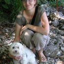 jaz in Chelsea na počitnicah v Bohinju