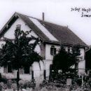 Končkova hiša za časa gospodarja Jožeta Nagliča