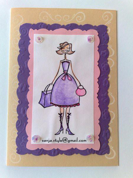 Voščilnice - Handmade greeting cards - foto