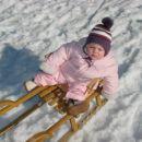 Užitek na snegu!