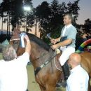 Osvojeno 3.mesto, za jahača pokal, za konja rozeta