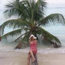 Palma ležeča v morju