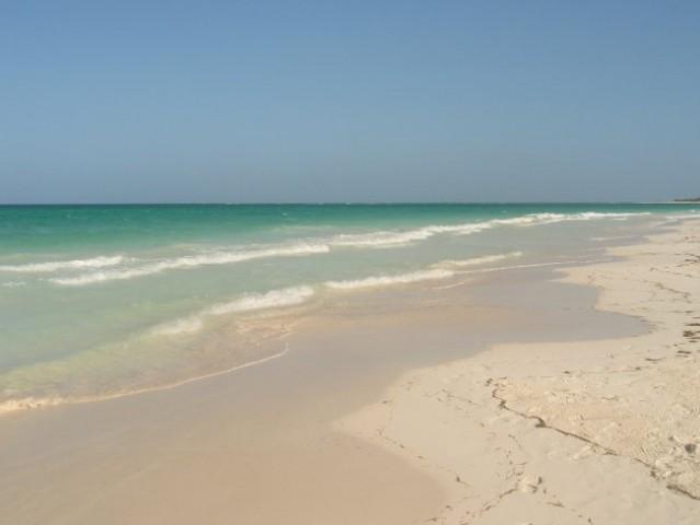 Pravijo, da je to ena najlepših plaž v Karibskem morju ali celo na svetu