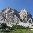 Monte Lagazuoi 2752 m.