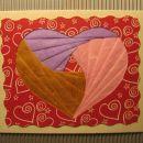 iris folding srček