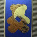 iris folding medvedek
