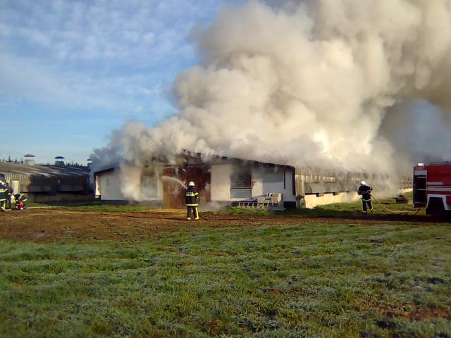 Požar Starošince - foto