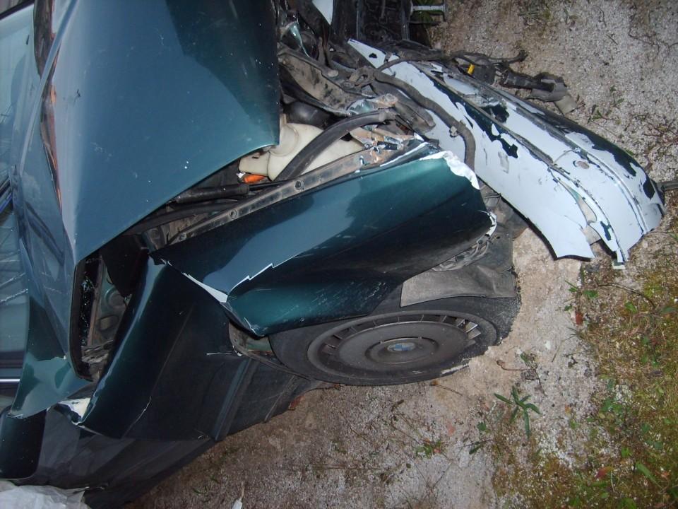 Nesreča - foto povečava