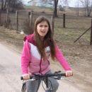 Mendi navdušena nad kolesarjenjem