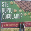 Skoraj sosedje s tovarno čokolade....njamiiii