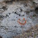 grafiti tudi v hribih