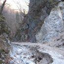 Kamniški vrh čez Hudi konec 17.2.08