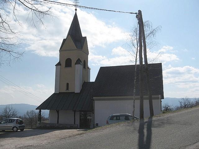 Ko jo najdeš, si na konju - cerkvica sv. Neže