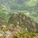 pogled z vrha v dolino