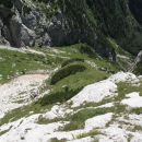 v Spodnji Dolcih - pastirski prehod gre tule po levi