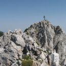še nekaj metrov do vrha Svačice