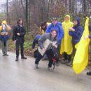 Priprave na hojo v dežju