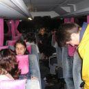 Na avtobusu smo bili še vsi zaspani