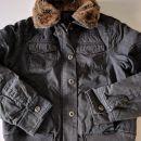 zimska jakna, pravo krzno Tom Tailor, vel.148, cena 10€