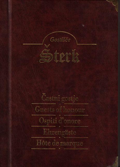 Knjiga častnih gostov - foto