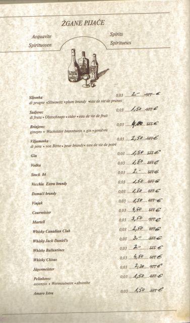 Vinski list - foto