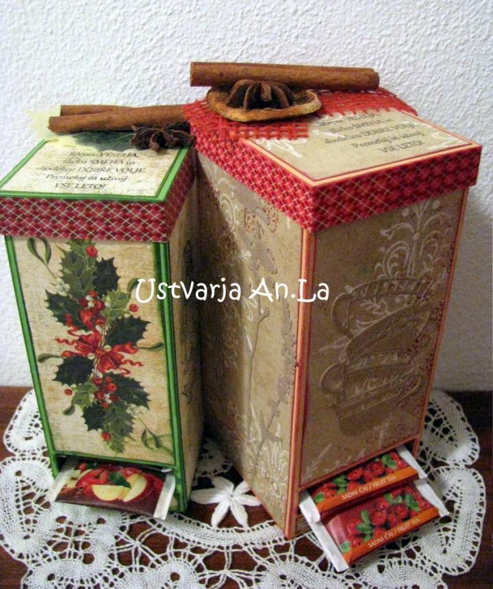DARILNE škatlice, vrečke - foto povečava