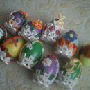 quilling jajčke - na vseh so tudi zajčki)