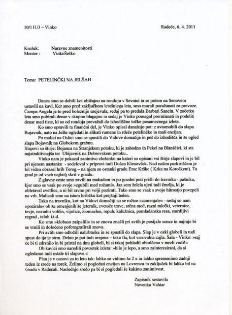 Petelinčki na Jelšah in slap Bojanca 6.4.2011 - foto