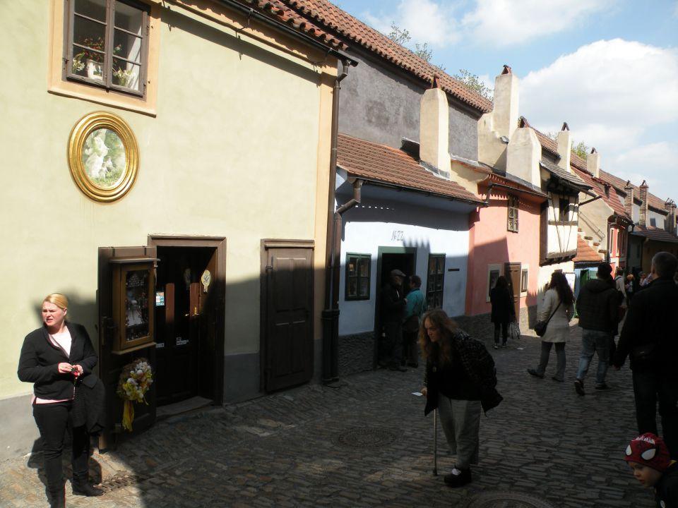 16 Praga Zlata ulica - foto povečava