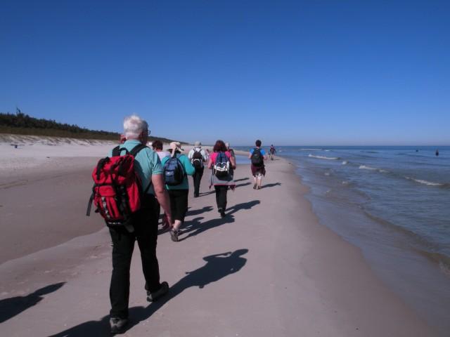 17 Poljska Baltik peščene plaže in sipine - foto