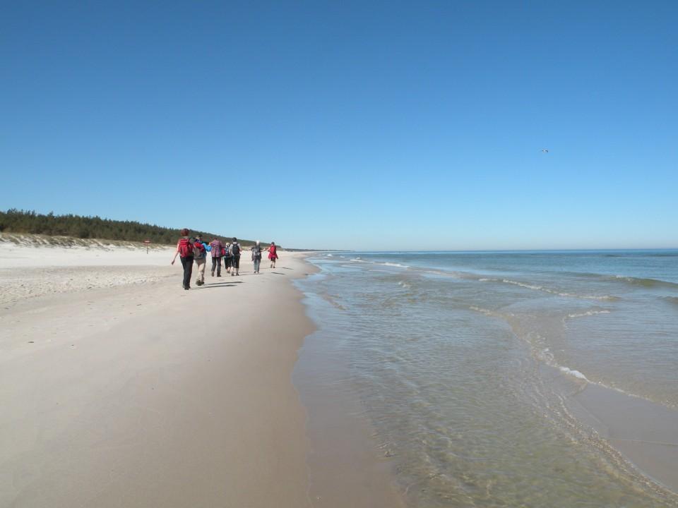 17 Poljska Baltik peščene plaže in sipine - foto povečava