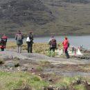 Škotska Skay na otočku in na poroki ob jezerc