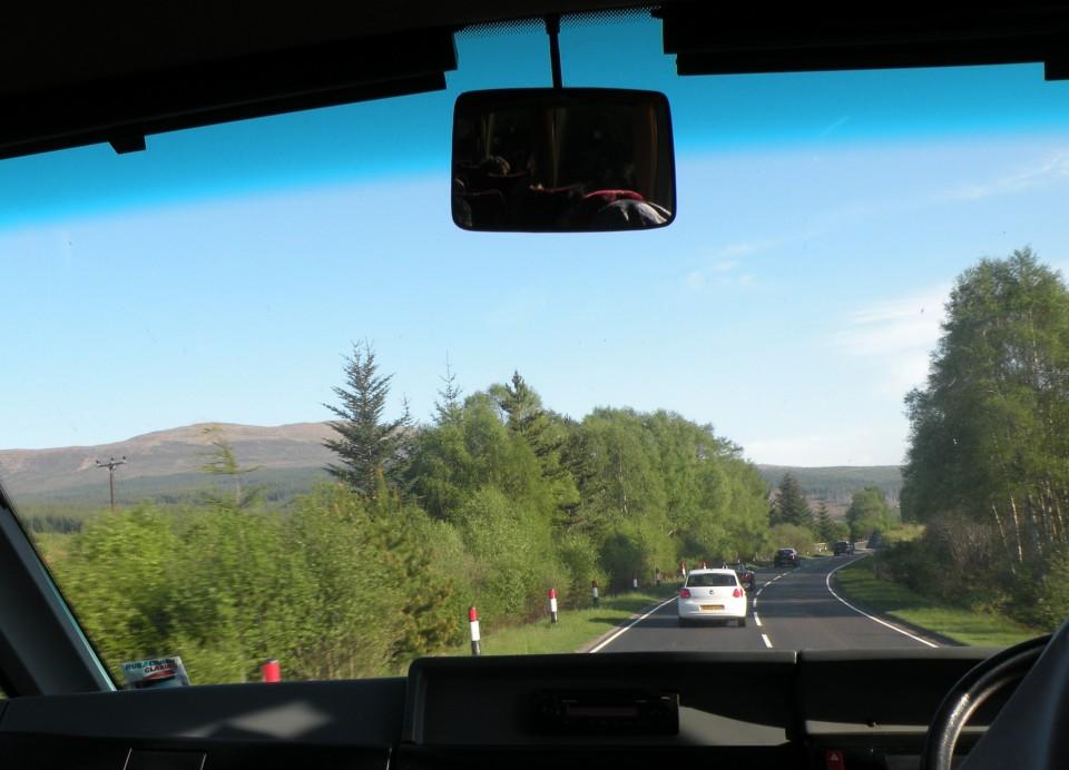Škotska Inverness Drumnadrochit - foto povečava