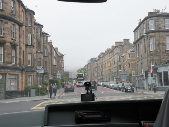 Škotska Edinburg hostel in mesto - foto