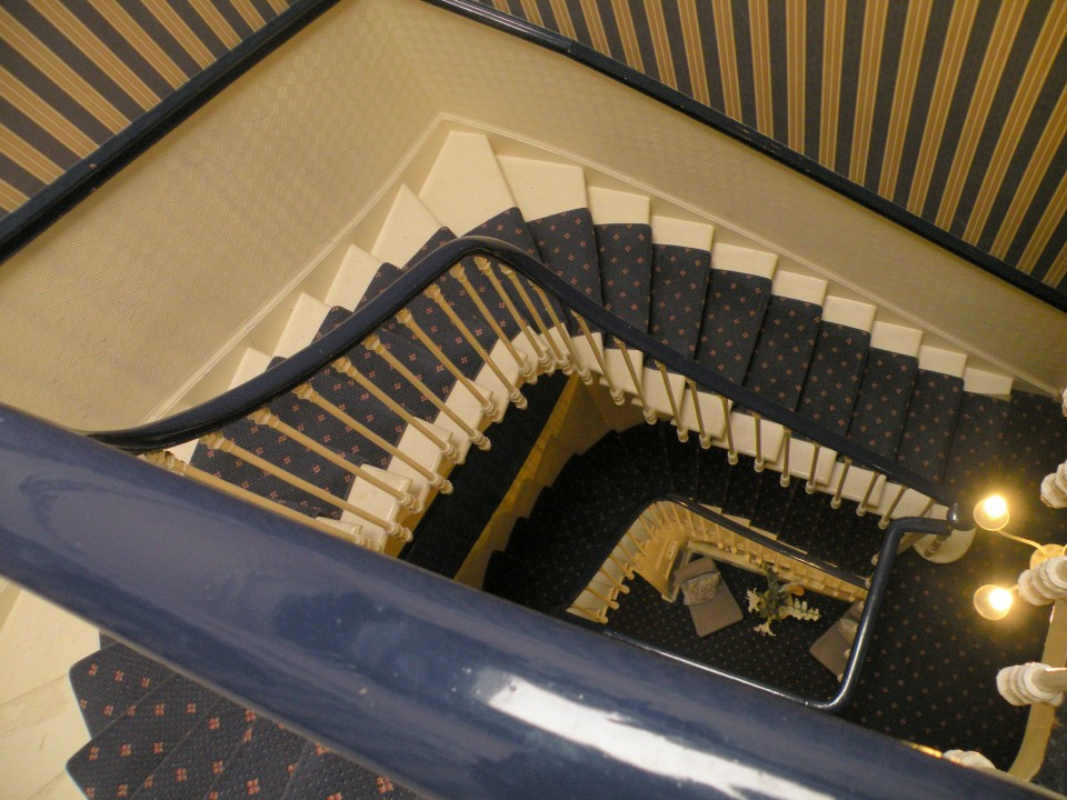 Škotska Edinburg hostel in mesto - foto povečava