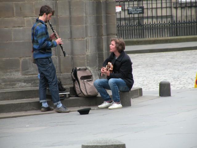 Škotska Edimgurg mestni utrip - foto