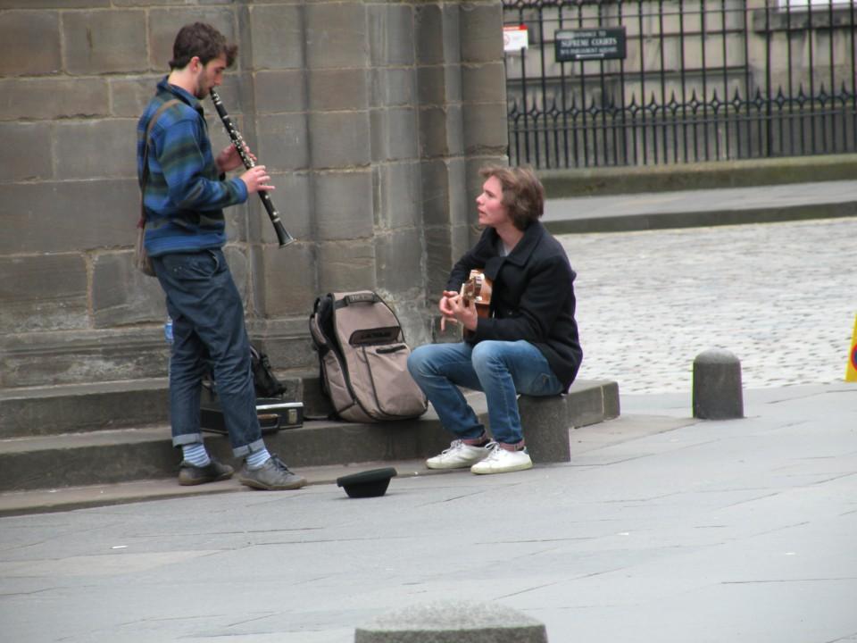 Škotska Edimgurg mestni utrip - foto povečava