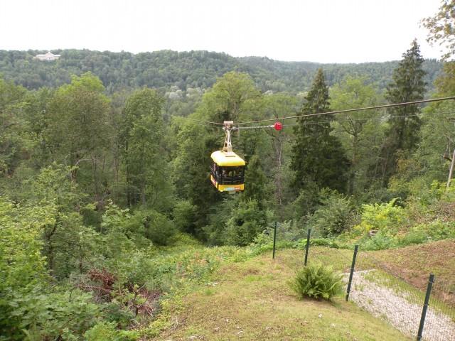19 Balt.3 NP Gauja gondola in jama - foto