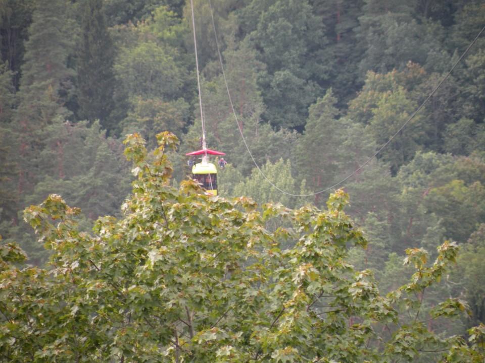 19 Balt.3 NP Gauja gondola in jama - foto povečava