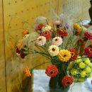 Razstava cvetja iz krep papirja Vransko 2013