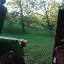 Pogled iz doline na račje obore