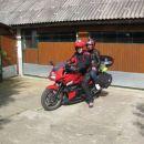 Odhod od doma na turnejo na motozbor ŽIRI in slovensko primorje