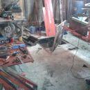 Delavni prostor z orodjem
