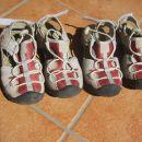Fantovski poletni, pohodni čevlji in copati