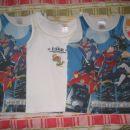 Spodnje majice in pižama fant 98-116