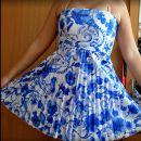 modra obleka, št L,XL