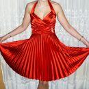 rdeča obleka S, M, L