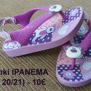 opanki/sandali IPANEMA (vel. 20-21) - 7€