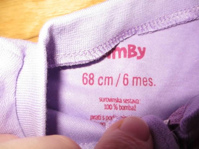 Nova oblačilca za dojenčka 62-68 - foto