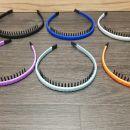 Komplet nerabljenih obročev za lase z zobci